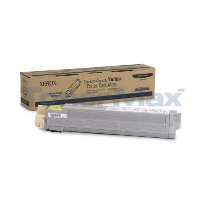 XEROX PHASER 7400 TONER CART YELLOW 9K